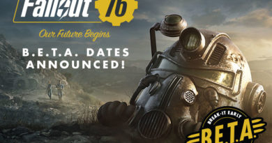 Fallout 76 BETA Dates