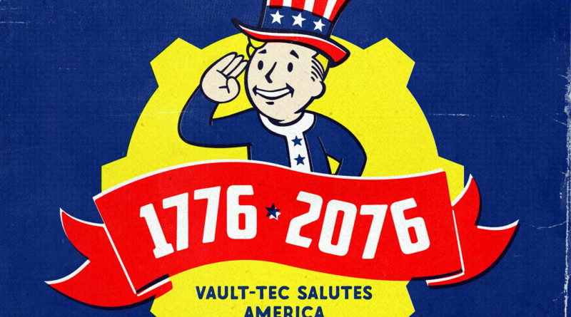 Fallout 76 Cellphone Wallpaper 1776-2076
