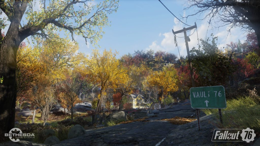 Fallout 76 Country Road Wallpaper
