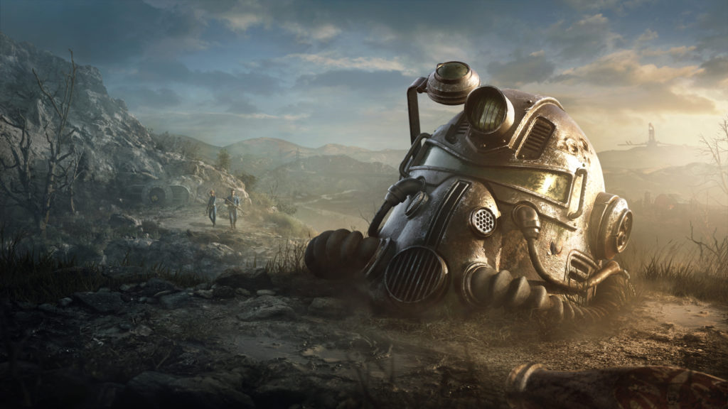 Fallout 76 Wallpaper Helmet