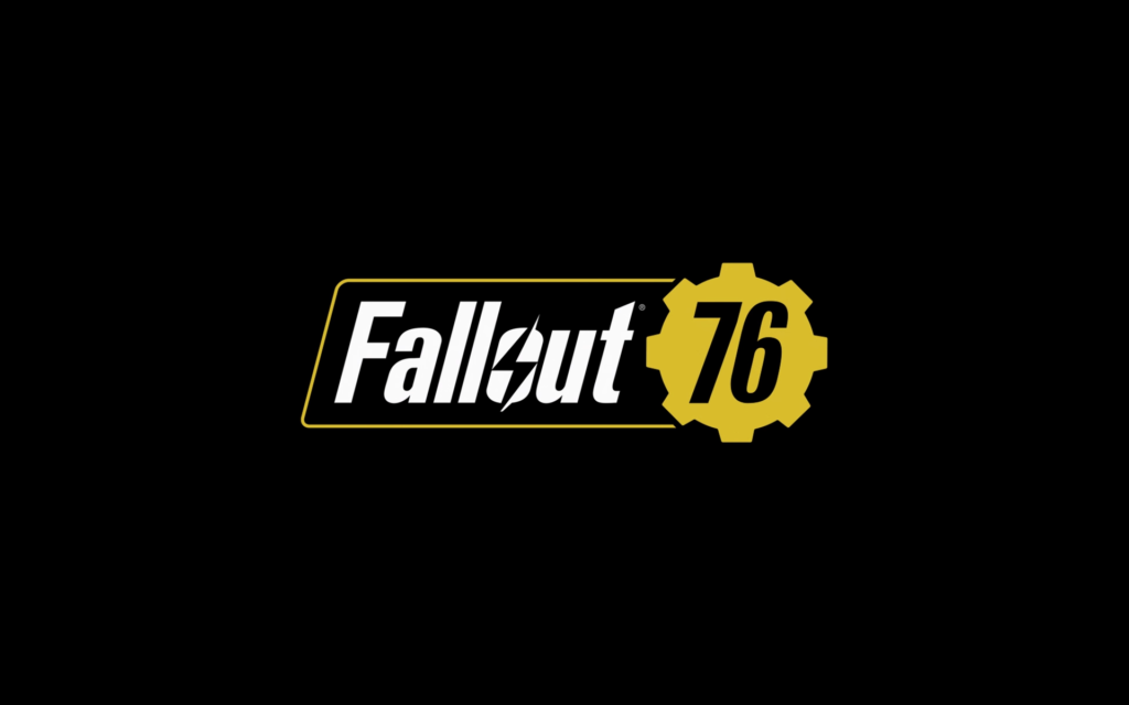 Fallout 76 Wallpaper Logo