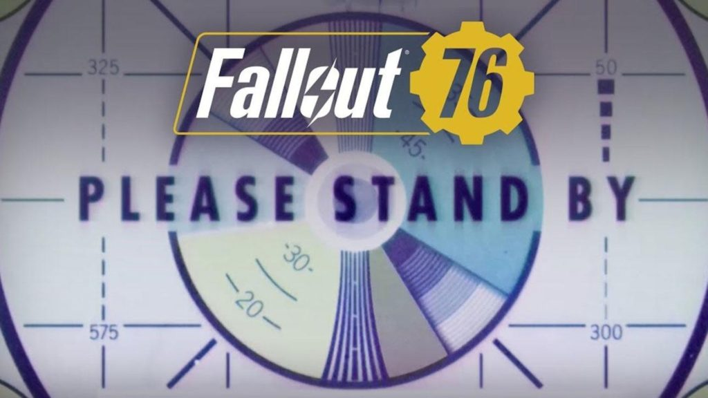 Fallout 76 Wallpaper Please Stand By