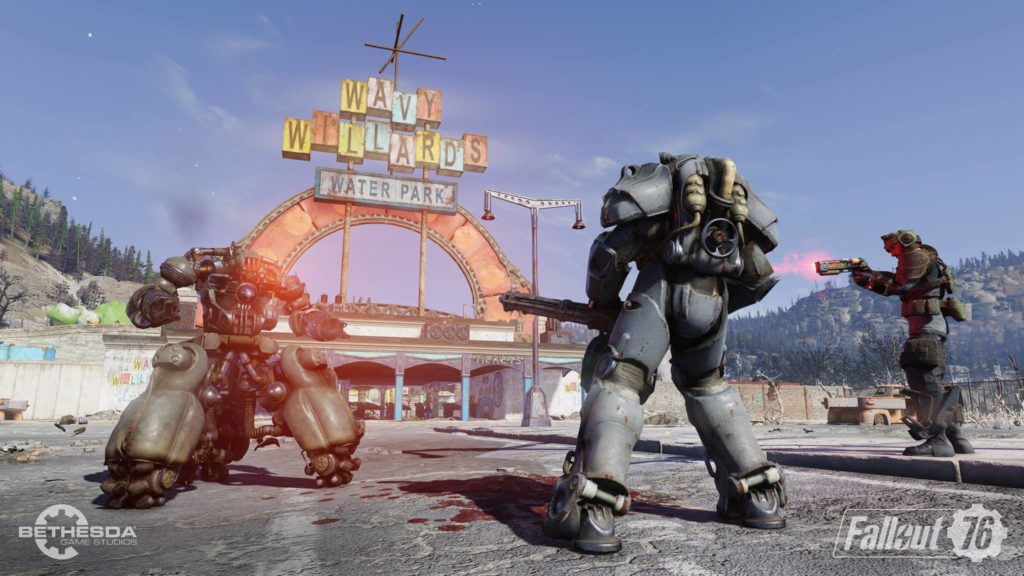 Fallout 76 Wallpaper Water Park