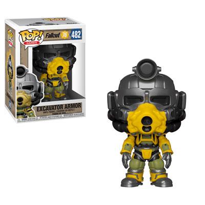 Fallout 76 - Funko Pop! - Excavator Armor