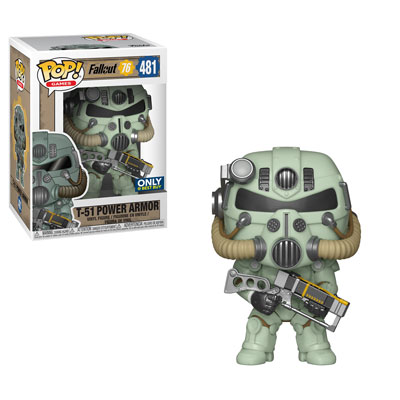 Fallout 76 - Funko Pop! - T-51 Green Power Armor