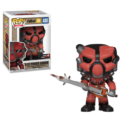 Fallout 76 - Funko Pop! - X-01 Red Power Armor